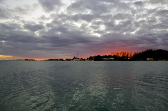 Sunset In Bimini