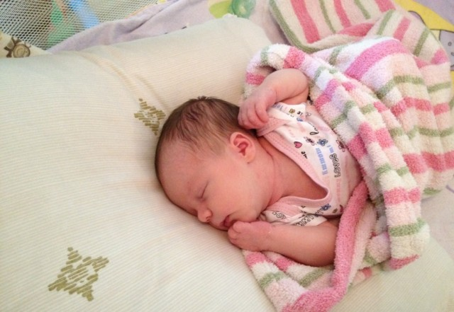 Angelica Pitzner July 2012 (11 days old)