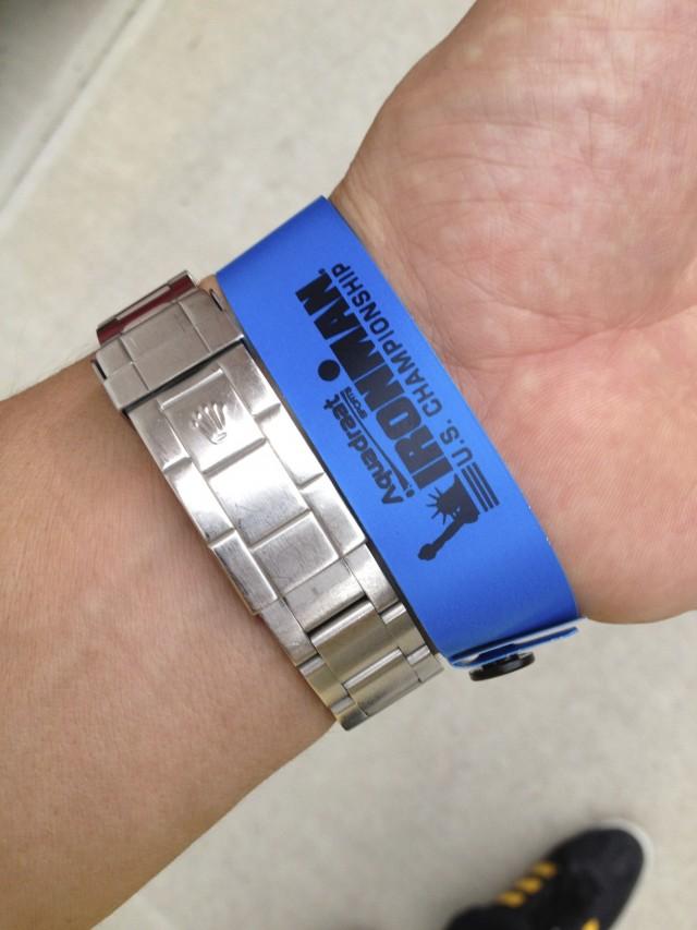 US CHAMPIONSHIPS IRONMAN Wristband