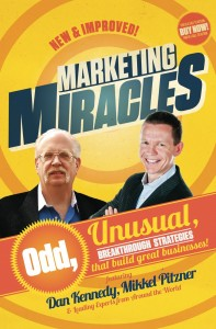 Marketing Miracles Cover Mikkel Pitzner