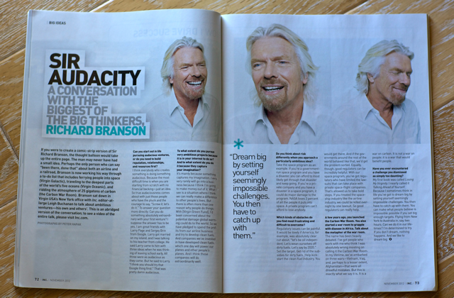 Inc Magazine Richard Branson Mikkel Pitzner