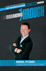 Breaking Through the book featuring Mikkel Pitzner