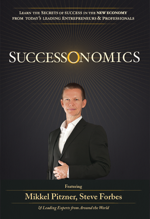 Successonomics Book Cover Title Featuring Mikkel Pitzner
