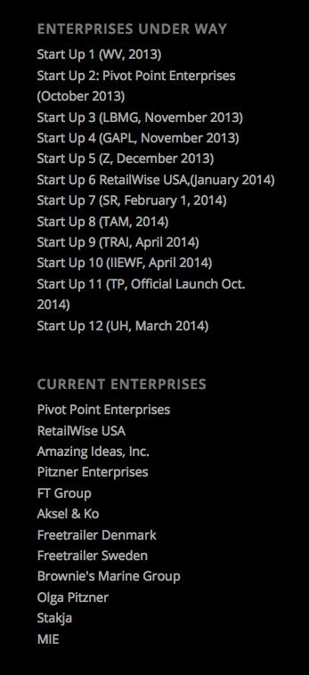 Ventures Under Way